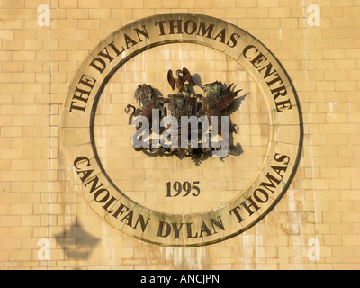 The Dylan Thomas Centre is an arts centre located in Swansea, Wales. - Stock Photo