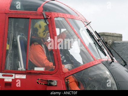 coastguard rescue - Stock Photo
