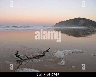 Rodiles beach Villaviciosa Asturias Spain - Stock Photo