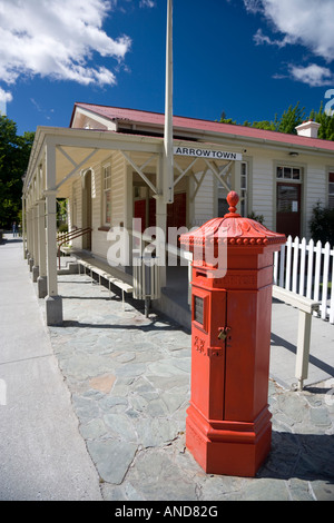 The old Post Office at Arrowtown, New Zealand - Stock Photo