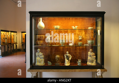 The National Archaeological museum of Naples in Naples Italy - Stock Photo