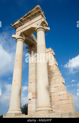 Sanctuary of Apollo Hylates is an ancient monument dedicated to the God of Apollo  the protector of Kourion, Cyyprus - Stock Photo