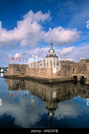 Concarneau, Finistere region, Brittany, France - Stock Photo