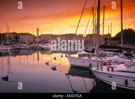 Old Harbour, La Rochelle, Poitou Charentes, France - Stock Photo