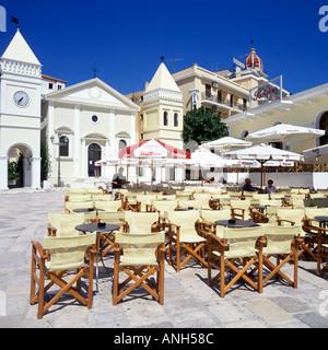 ZAKYNTHOS TOWN ZAKYNTHOS GREECE - Stock Photo
