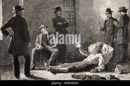 John Brown After his Capture. John Brown, 1800 - 1859. White American abolitionist.