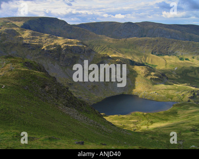 Small water from Harter Fell in the Lake District National Park. - Stock Photo
