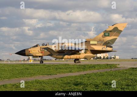 Royal Saudi Air Force Panavia Tornado IDS - Stock Photo