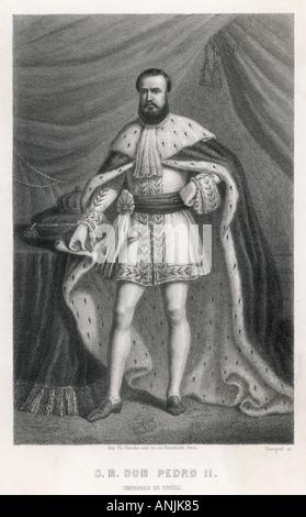 Pedro Ii  Brazil Emperor - Stock Photo
