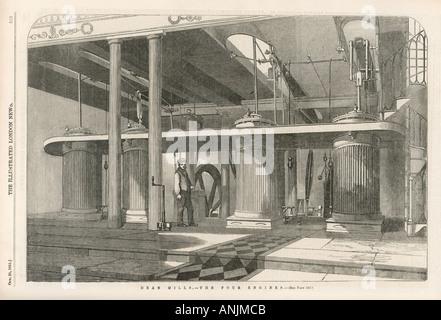 Factories Britain - Stock Photo