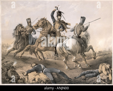 Charge Of Light Brigade - Stock Photo