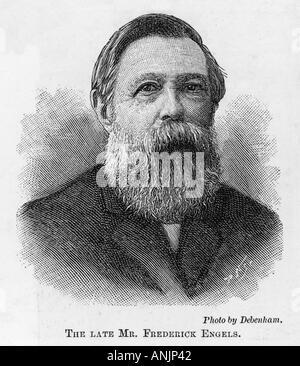 Friedrich Engels - Stock Photo