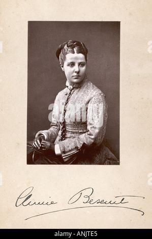 Annie Besant Photo - Stock Photo