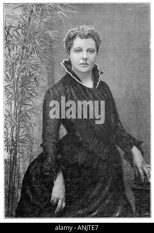 Annie Besant In 1885 - Stock Photo