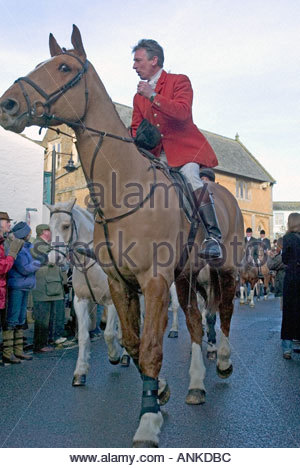 blackmore and sparkford vale hunt meet card