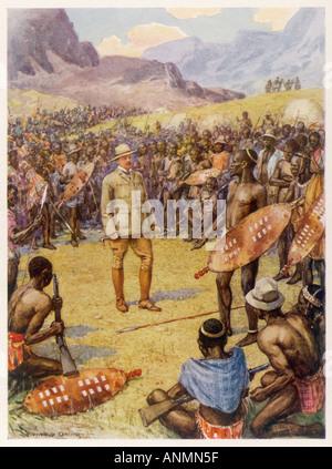 Cecil Rhodes Davie Hero - Stock Photo