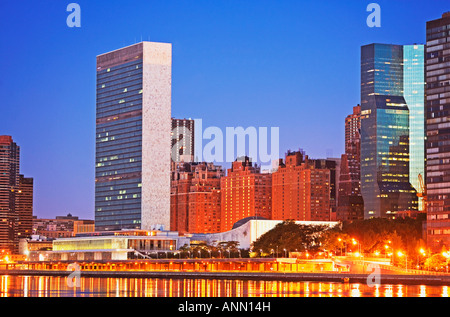 United Nations, New York City - Stock Photo