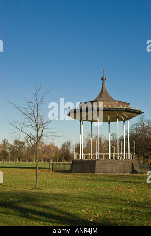bandstand Kensington Gardens London England UK - Stock Photo