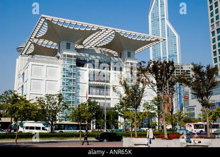Shanghai Urban Planning Exhibition Hall, Shanghai, China - Stock Photo