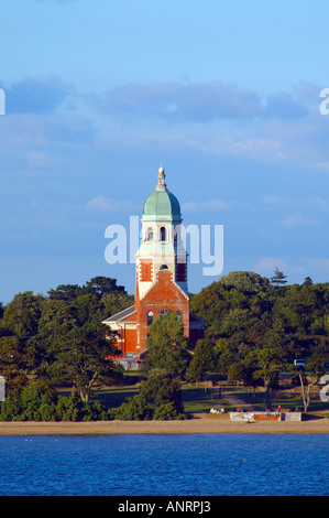 Royal Victoria Country Park, Netley Abbey, Southampton Water, Hampshire, England - Stock Photo