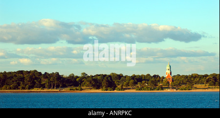 Netley Abbey Southampton water Hampshire England - Stock Photo