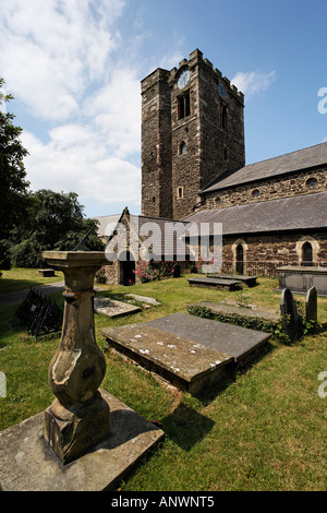 St. Mary & all Saints church in Conwy, Wales, Great Britain