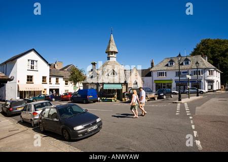 The pretty English village of Chagford in Devon, England, UK