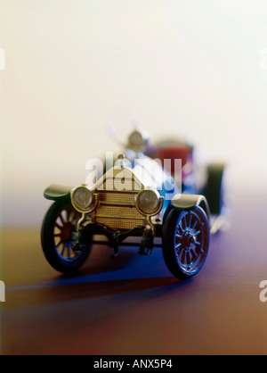 scale model of oldtimer car editorial use only - Stock Photo