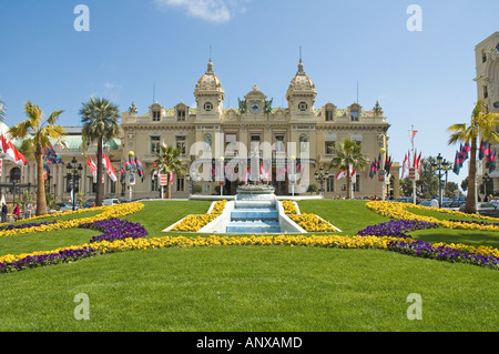 casino monte carlo flowers spring Menton Mediterranean sea ocean ...