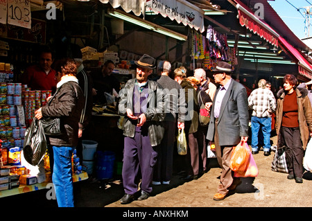 The Carmel Market Tel Aviv-Yafo Israel - Stock Photo