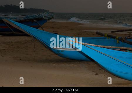 Canoe Bows - Stock Photo