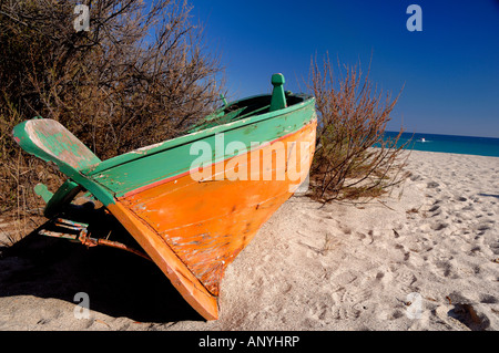 Beach Calabria Italy - Stock Photo