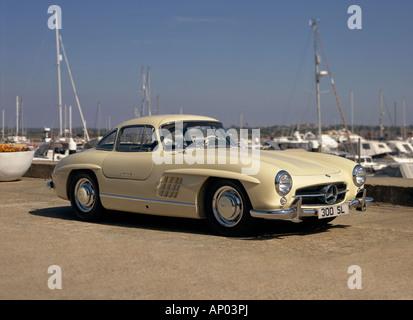 Mercedes Benz 300sl Gullwing Vintage Classic Motorcar