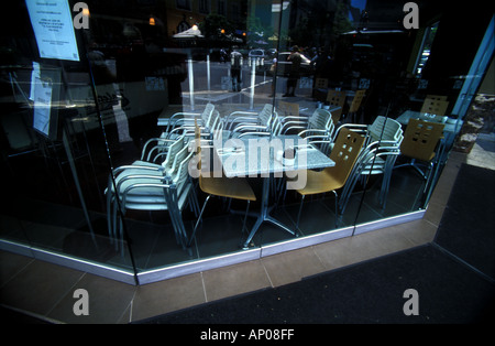 Corner cafe Brisbane Queensland Australia 2496 - Stock Photo