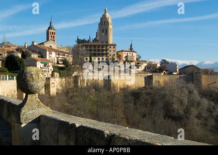 Cathedral Segovia - Stock Photo