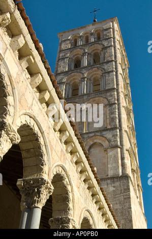 Church of San Esteban Segovia - Stock Photo