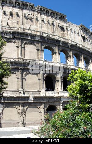 The Coliseum in Rome, Italy, Europe, Colosseum, Coliseum - Stock Photo