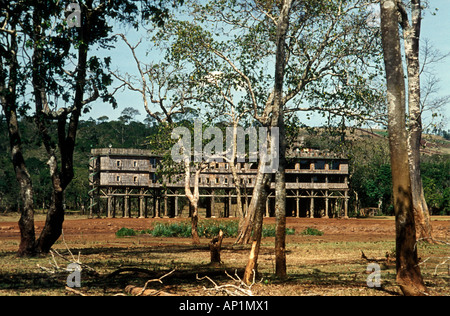 Treetops Lodge Aberdares National Park Kenya East Africa - Stock Photo