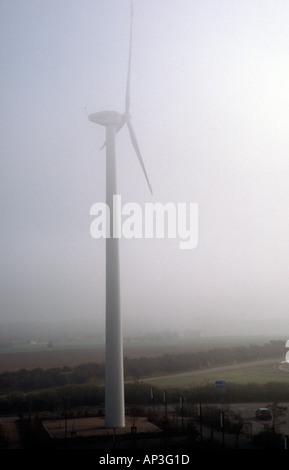 PICTURE CREDIT DOUG BLANE Wind turbin in France - Stock Photo