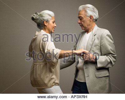 Couple dancing - Stock Photo