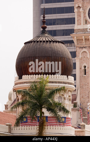 A detail from the Masjid Jamek, the oldest mosque in Kuala Lumpur. The mosque dates from 1907. - Stock Photo
