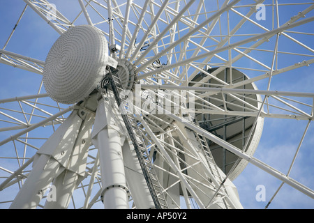 Ferris Wheel Hub - Stock Photo