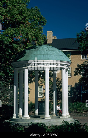 Old Well University of North Carolina Chapel Hill North Carolina USA - Stock Photo