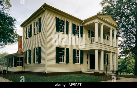 Mordecai House, Raleigh, North Carolina, USA - Stock Photo