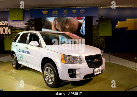 Chevrolet Equinox fuel cell SUV at the 2008 North American International Auto Show in Detroit Michigan USA - Stock Photo