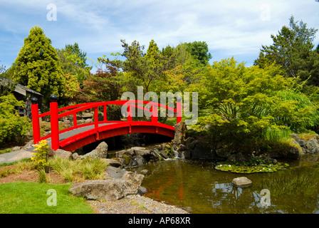 Red Japanese Garden Bridge japanese garden bridge over stream royal roads university