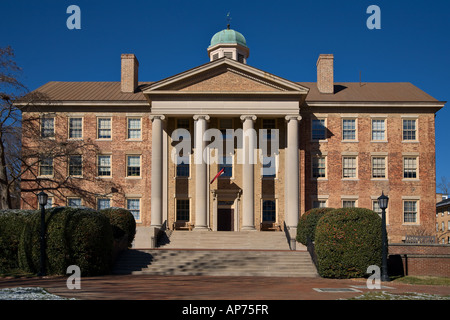 South Building of the University of North Carolina in Chapel Hill UNC - Stock Photo