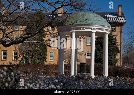 The symbol of the University of North Carolina - the Old Well - Stock Photo