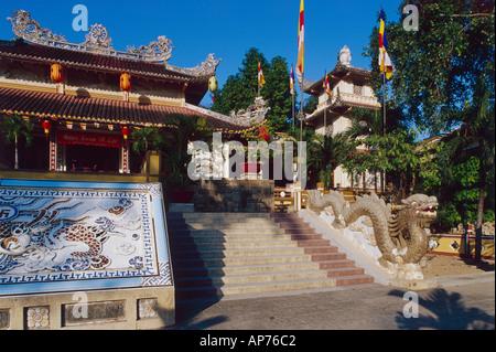 Nha Trang Long Son Pagoda - Stock Photo