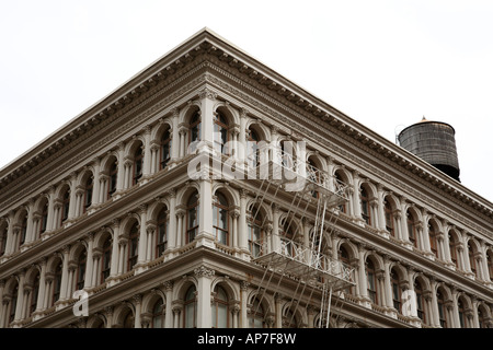 iron cast building - Stock Photo